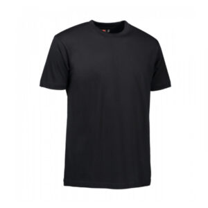 ID-0510-100-Cotton-T-TIME-T-Shirt-in-Black
