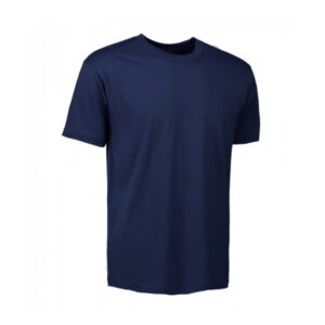 ID-0510-100-Cotton-T-TIME-T-Shirt-in-Navy