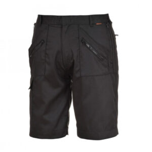 Portwest-S889-Action-Shorts-in-Black