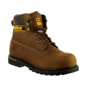 CAT-Caterpillar-Holton-Safety-Boots-in-Brown