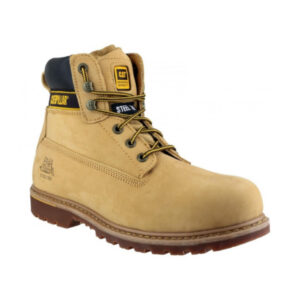 CAT-Caterpillar-Holton-Safety-Boots-in-Honey