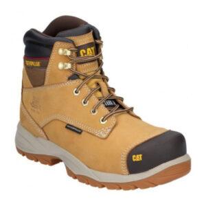 CAT-Caterpillar-Spiro-Safety-Boots-in-Honey