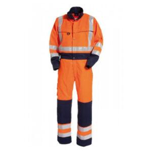 Tranemo-4810-Hi-Vis-Boilersuit-Orange