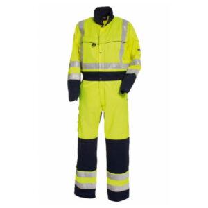 Tranemo-4810-Hi-Vis-Boilersuit-Yellow